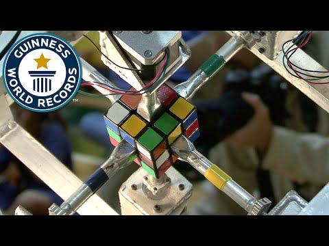 1.047 秒解開魔術方塊!最新金氏世界紀錄達成!