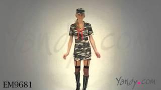 Womens Army Halloween Costume
