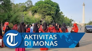 Pasca Ledakan di Monas, Masyarakat Tetap Beraktifitas seperti Biasanya