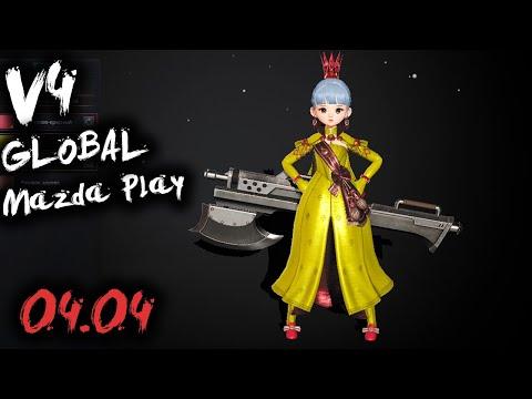 v4 СТРИМ В НОЧИ 1.100.000 БМ / V4 MAZDA PLAY MMORPG 2021