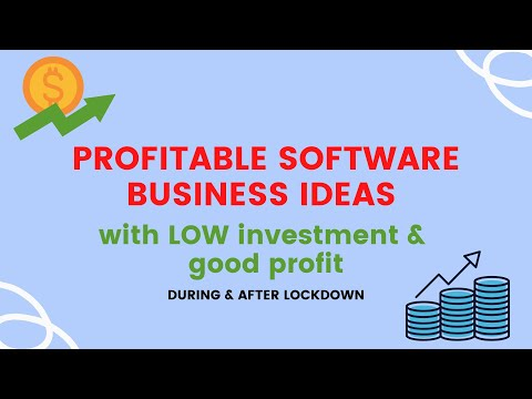 , title : '🔥BEST Profitable software business ideas with low investments & good profit 🔥
