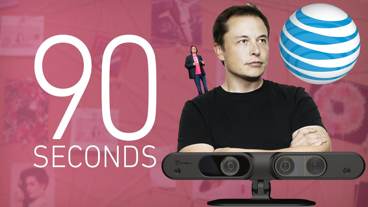 AT&T's NEXT ripoff, Elon Musk's Hyperloop, and Apple's Kinect-ion: 90 Seconds on The Verge thumbnail
