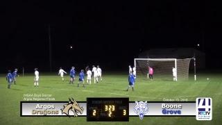 IHSAA Boys Soccer Regional Final @ Argos - Argos vs Boone Grove