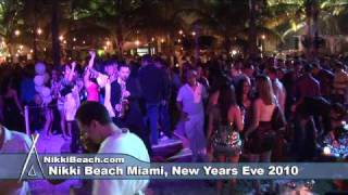 Nikki Beach Miami Beach New Years Eve 2010