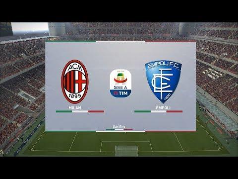 AC Milan vs Empoli - San Siro - 2018-19 Serie A - PES 2019