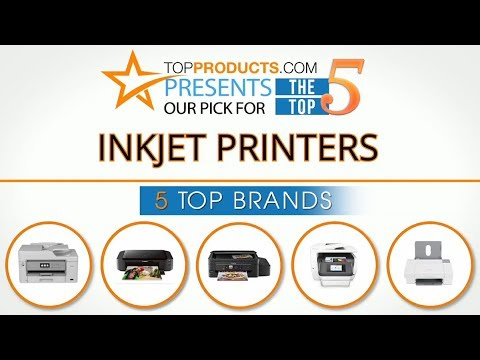 Best Inkjet Printer Reviews 2017 – How to Choose the Best Inkjet Printer