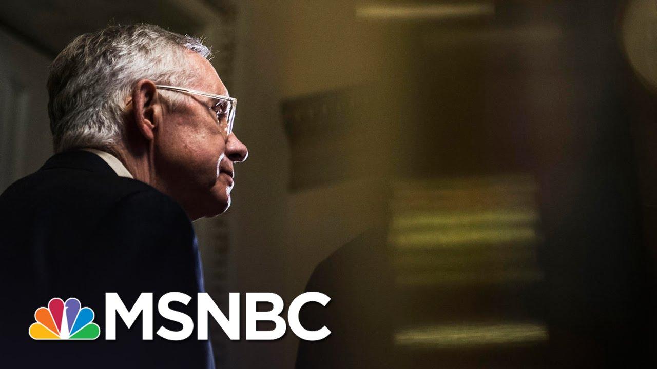 Senator Harry Reid Endorses Hillary Clinton | MSNBC thumbnail