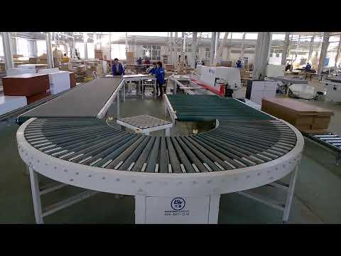Rotary Line for edge bonding big panel SplitIt