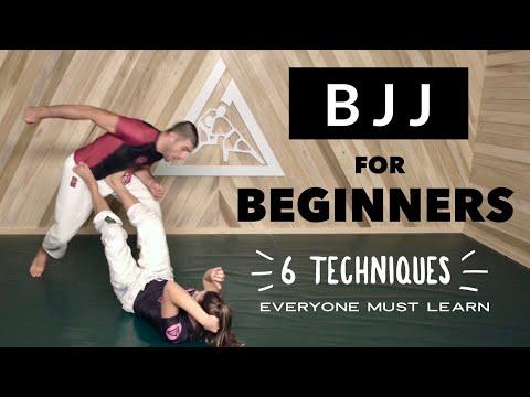 Brazilian Jiu-Jitsu for Beginners (The First 6 BJJ Techniques Everyone MUST Learn) with the Gracies