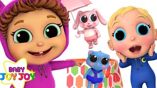 Pop Goes The Weasel | Baby Brother Adventure | Learn Colors