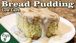 Bread Pudding Cake – Warm And Delicious! – Low Carb Keto Dessert Recipe