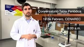"""Lanzamiento """"Año Internacional de la Tabla Periódica de los Elementos Químicos"""""""