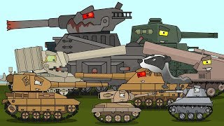 Top 30 - Cartoons about tanks