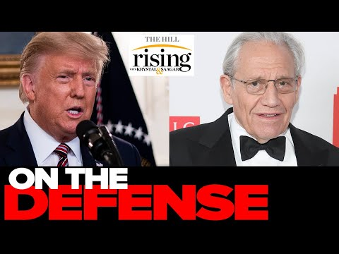 Trump Campaign TRIES To Defend Against Bob Woodward Book