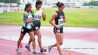 5000m Race Walk Girls U18 Final National Youth Athletic Championships 2018