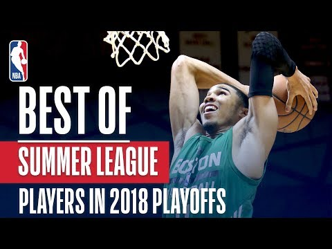 Best NBA Summer League Plays From Players in the 2018 NBA Playoffs
