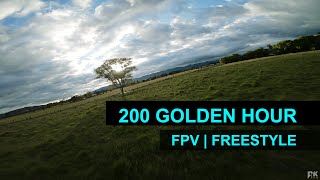 FPV // Freestyle // 200 Golden Hour ☀️ // Bogota - Colombia