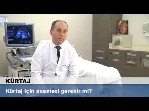 Kürtaj için anestezi gerekir mi?