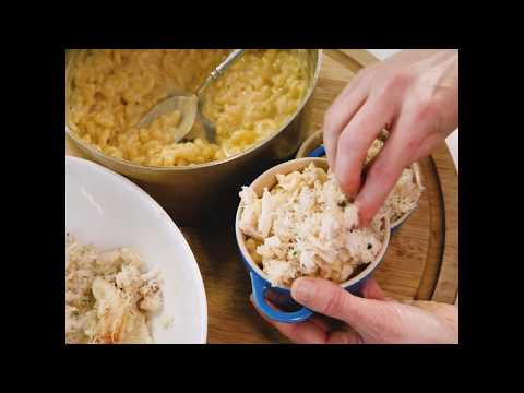 Dungeness Crab Mac 'N' Cheese Recipe