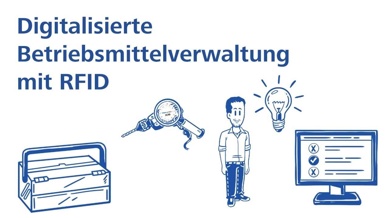 Digitalisierte Betriebsmittelverwaltung mit RFID