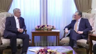 Министр иностранных дел Республики Армения принял кандидата на пост секретаря Организации Договора о Коллективной Безопасности, госсекретаря национальной безопасности Беларуси Заса