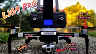 Unboxing Drone L109 PRO | Drone Bom e barato com GPS Motor Bruschles e Gimbal