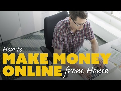How to Make Money Online at Home