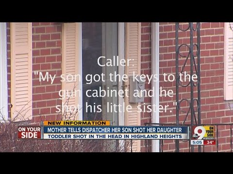 Mom's 911 call: Son, 5, shot 2-year-old sister
