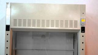 5′ New Mott Fume Hood with Used Flammable Base Cabinets