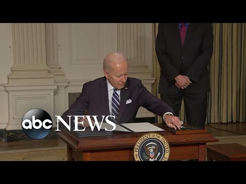 Biden signs executive order on climate change