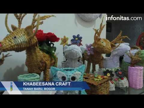 Khabeesana Craft, Menyulap Limbah Kertas Menjadi Karya Seni Bernilai