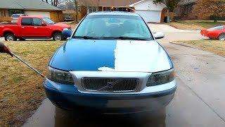 Copart $500 2003 Volvo V70 Plasti dip Removal + Diagnosis
