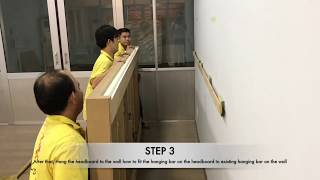 Chitose Headboard Installation