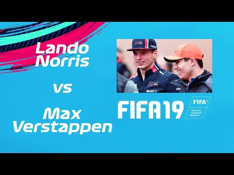Image: WATCH: Lando Norris v Max Verstappen on FIFA 19!