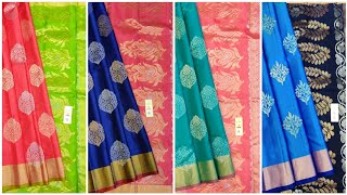 Pure Handloom Kanchipuram Soft Silk Sarees With Silk Mark Certified   Free Shipping In India