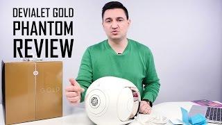 UNBOXING & REVIEW - Devialet Gold Phantom - Cea mai puternică și mai scumpă boxă wireless