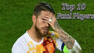 Top 10 Players Fatal Mistakes In Football