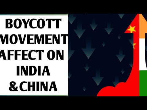 How Boycott Movement Affects on INDIA&CHINA|third eye