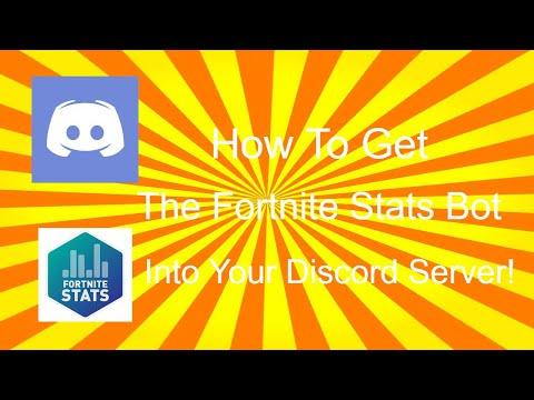 Fortnite Tracker Discord Bot | STAMP TV