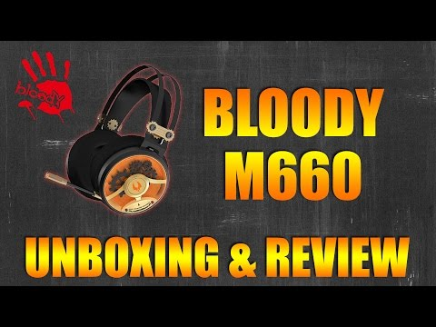 Bloody M660 Headset Unboxing and Review