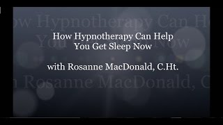 HypnoVitality®   How Hypnotherapy Can Help You Get Sleep Now