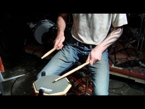 [drums lernen] Rudiments: Single Stroke Four