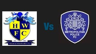 Havant&Waterloovile VS Metropolitan Police V-LOG 1st of many 2-1 loss sadly
