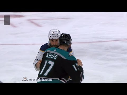 Ryan Kesler vs. Zach Bogosian