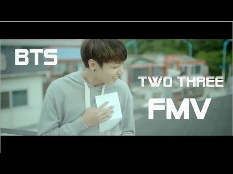 BTS - Two three FMV  (+перевод в субтитрах)