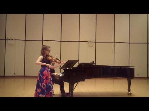 Vieuxtemps Sonata for Viola and Piano, movement 2