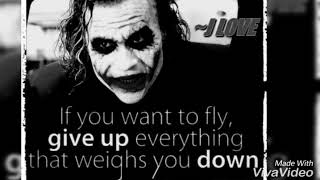 Motivational Quotes By JOKER||Inspirational Quotes By Joker