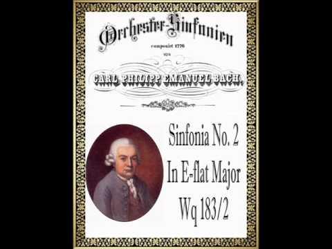 C.P.E. Bach - Symphony In E-flat Major Wq. 183/2