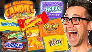 Best Halloween Candy Taste Test (Day 1)