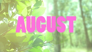 PRETENTIOUS MONTHLY SCRAPBOOK / AUGUST / Alex Lowes